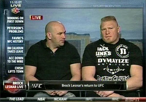 Brock Lesnar - Dana White on ESPN