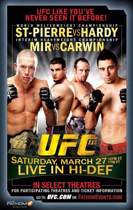 UFC 111 Movie Poster