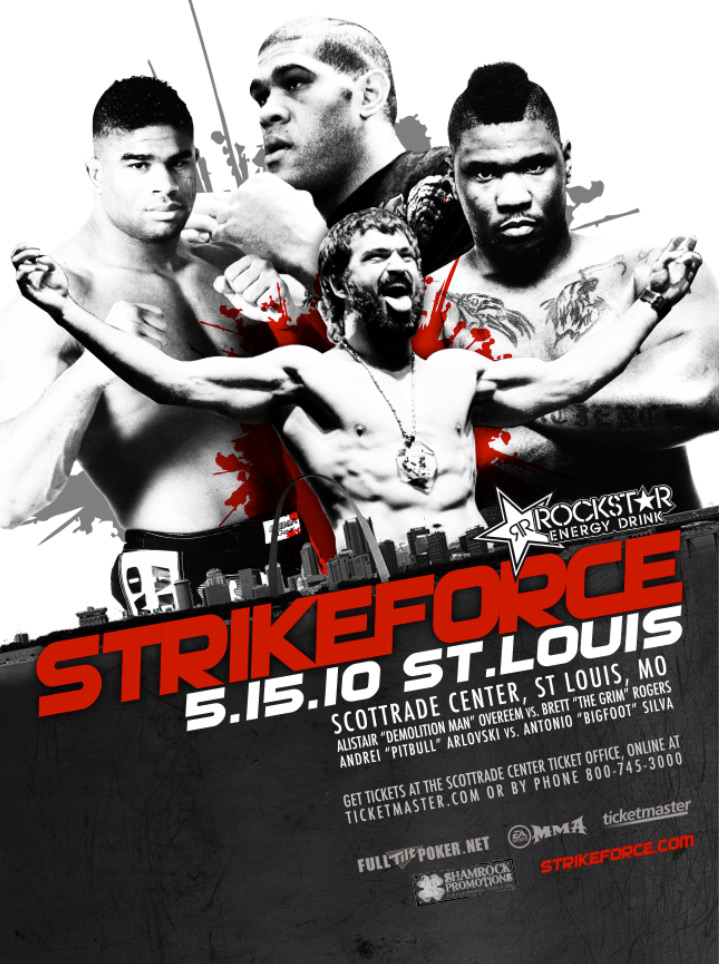 Strikeforce St. Louis Event Poster